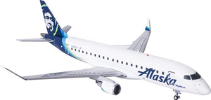 Alaska Airlines Embraer ERJ-175 1/200 Model
