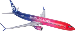 Alaska Airlines 737-900 More to Love 1/200Model