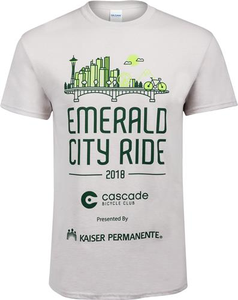 Emerald City Ride 2018 T-Shirt