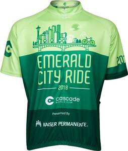 Emerald City Ride 2018 Men's Jersey