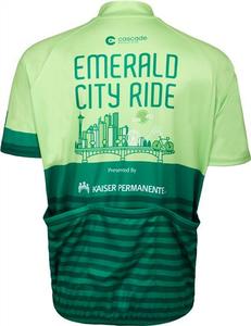 Emerald City Ride 2018 Men's Jersey