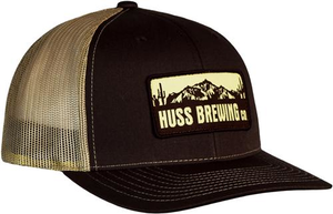 Huss Brewing Mountain Patch Hat
