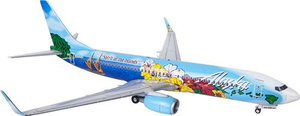 Alaska Airlines 737-800 Spirit of the Islands 1/200 Model