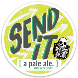 Send it Tap Stickers (25 pack)