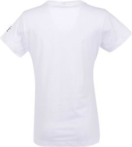 Women's White Be the Voice V-Neck