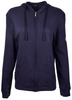 Women's Navy Be the Voice Zip-Up Hoodie image 1
