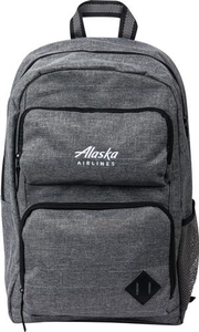 "Alaska Airlines Deluxe 15"" Computer Backpack"