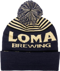 Loma Brewing Beanie with Pom