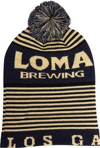 Loma Brewing Beanie with Pom