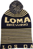 Loma Brewing Beanie with Pom  image 4