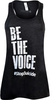 Women's Dark Gray Be the Voice Tank Top image 1