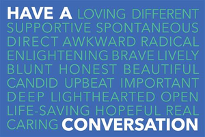 Have a Conversation Postcard (Pack of 25)