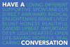 Have a Conversation Postcard (Pack of 25) image 1