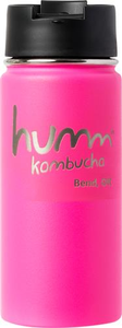 Humm Kombucha Wide Mouth with Flip Cap 16 oz