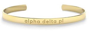 Nava New York Sorority Cuff - Alpha Delta Pi
