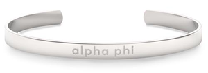 Nava New York Sorority Cuff - Alpha Phi