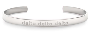 Nava New York Sorority Cuff - Delta Delta Delta