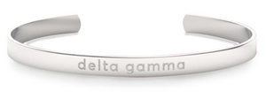 Nava New York Sorority Cuff - Delta Gamma