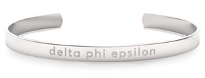 Nava New York Sorority Cuff - Delta Phi Epsilon