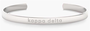 Nava New York Sorority Cuff - Kappa Delta