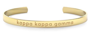 Nava New York Sorority Cuff - Kappa Kappa Gamma