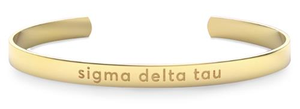 Nava New York Sorority Cuff - Sigma Delta Tau