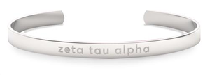 Nava New York Sorority Cuff - Zeta Tau Alpha