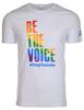 Unisex Rainbow Be the Voice Crewneck image 1