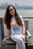 Unisex Rainbow Be the Voice Crewneck image 3