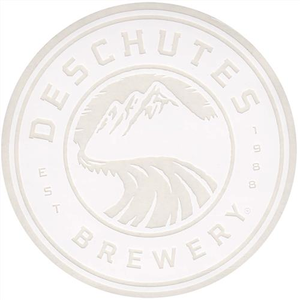 "Deschutes Brewery 4"" Sticker - Circle Logo"