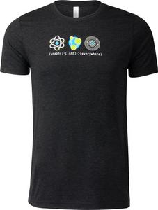(graphs)-[:ARE]->(everywhere) Unisex T-Shirt