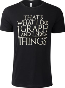 I Node Things - Discharge Unisex T-Shirt