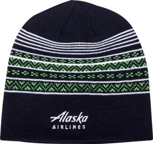 Alaska Airlines Skull Cap Knit Beanie