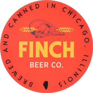 Finch Beer Co. Round Sticker