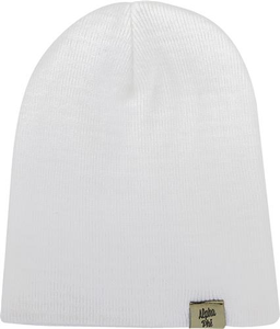 Woven Label Beanie - Alpha Phi