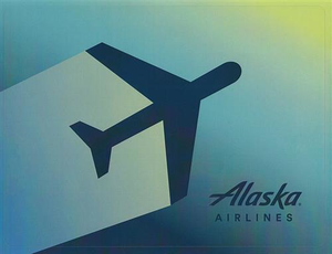 Alaska Airlines Laptop Skin