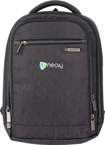 neo4j Slim Computer Backpack
