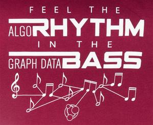 Women's Rhythm & Bass Tee