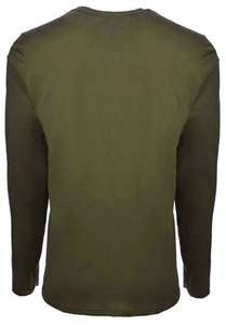Unisex Military Green Be the Voice Long Sleeve Shirt