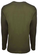 Unisex Military Green Be the Voice Long Sleeve Shirt image 2