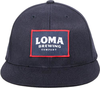 Loma Brewing Fitted HOF Patch Hat image 2