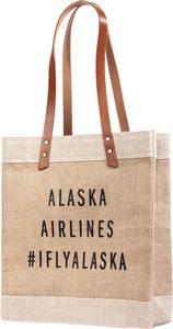 Alaska Airlines Apolis Market Tote