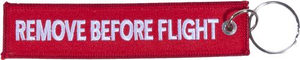 Horizon Air Remove Before Flight Keychain