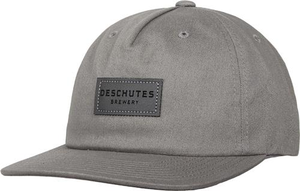 Deschutes Brewery Leather Patch Hat