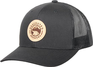 Deschutes Brewery Leather Patch Trucker Hat