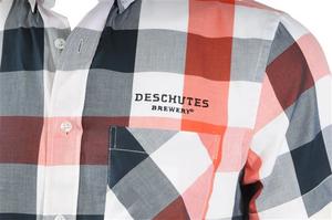 Deschutes Brewery Short-Sleeve Chambray Shirt