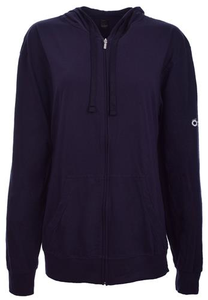 Navy Be the Voice Zip-Up Hoodie (Old Logo)