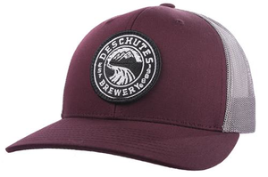 Deschutes Brewery Circle Logo Patch Trucker Hat