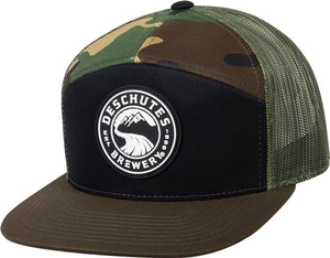 Deschutes Brewery Rubber Patch Flat Bill Trucker Hat
