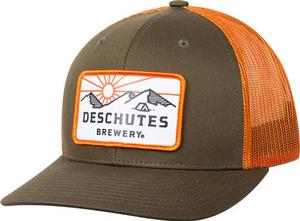 Deschutes Brewery Mountian Patch Trucker Hat